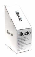 illucio Mirror Black Up GU10 LED Compatible Table/Floor Uplighter